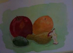äpplena tar slut